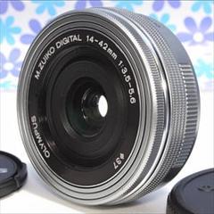 "Thumbnail of ""なめらか電動ズーム❤️オリンパス 14-42mm EZ❤️パンケーキレンズ❤"""