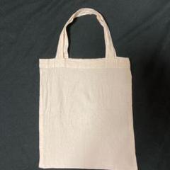 生成色 天竺木綿? トートバッグ エコバッグ 34 cm× 42.5 cm