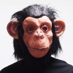"""Thumbnail of """"かぶりもの マスク 仮面 お面 面具 なりきり マスク 猿 チンパンジーパンダ"""""""