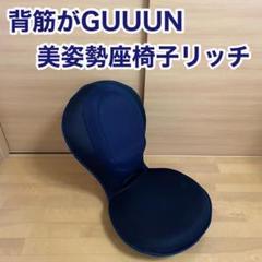 """Thumbnail of """"PROIDEA 背筋がGUUUN 美姿勢座椅子リッチ メッシュブラック"""""""