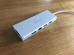 """Thumbnail of """"j5create USB 3.0 デュアルモニタ 5in1ミニドック"""""""