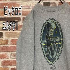 """Thumbnail of """"《レア》ビックプリントロゴ スウェット ユルダボ☆  L グレー"""""""