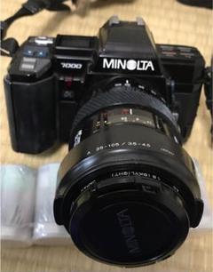 """Thumbnail of """"MINOLTAα7000。フラッシュフィルム、ケース付き。"""""""