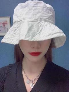 "Thumbnail of ""しわ加工帽子、漁師の帽子"""