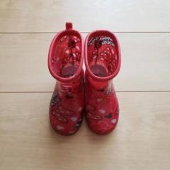 """Thumbnail of """"ミニー マウス キッズレインブーツ 長靴 14cm 赤 ディズニー"""""""
