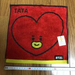 "Thumbnail of ""BTS  ハンドタオル TATA   25×25   ②"""