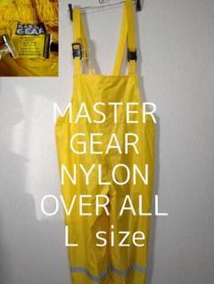 "Thumbnail of ""L MASTER GEAR ナイロン オーバーオール イエロー 黄色"""