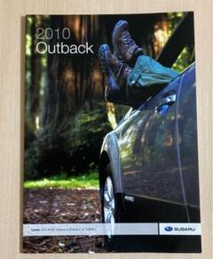 "Thumbnail of ""カタログ 北米 SUBARU Outback 2010"""