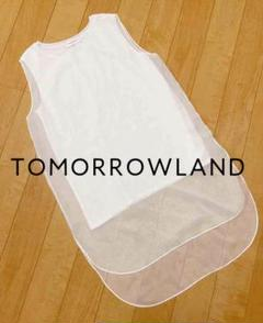 "Thumbnail of ""tomorrowland  ノースリーブトップス シアーシフォン シルク混"""