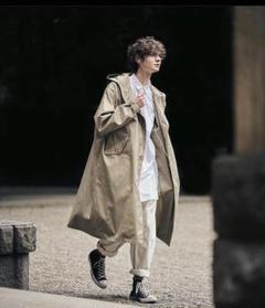 "Thumbnail of ""LENO HOODED COAT ベージュ 一回着用"""