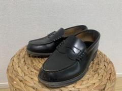 """Thumbnail of """"リーガル REGAL コインローファー 革靴 黒 ブラック 通学用 メンズ"""""""