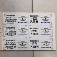 "Thumbnail of ""東武動物公園 入園券と割引券"""