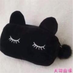 """Thumbnail of """"新品未使用!!黒色 猫耳 黒 ブラック ポーチ 可愛い オシャレ かわいい 安い"""""""