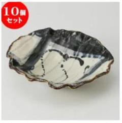 "Thumbnail of ""㊄古染かごめ しのぎ鉢 [ 23.6 x 21.5 x 5.5cm 580g ]"""