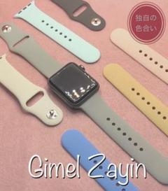"""Thumbnail of """"くすみカラー★アップルウォッチバンド ラバーベルト Apple Watch"""""""