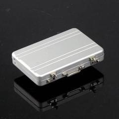 """Thumbnail of """"廃業デッドストック!クールなアタッシュケース型のアルミ製カードケース!"""""""