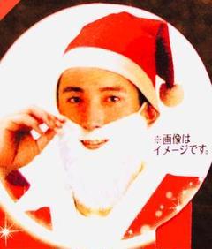 """Thumbnail of """"サンタクロースの帽子とひげ2点セット ゴム紐付 つけヒゲ 髭 クリスマス"""""""