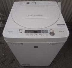 "Thumbnail of ""高年式 シャープ 洗濯機 ES-G4E6-KW 4.5Kg 2019年製"""