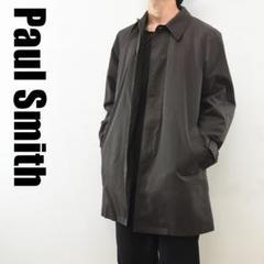 "Thumbnail of ""C6021 Paul Smith ステンカラーコート 中綿 ブラウン M"""
