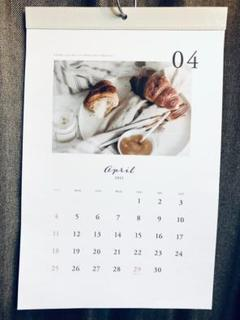 "Thumbnail of ""【4月始まり〜2022年3月まで】2021年 シンプルインテリア カレンダー"""