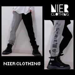 """Thumbnail of """"【NieR】TWO-TONE SWEAT PANTS【BLACK×GRAY】"""""""
