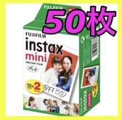 "Thumbnail of ""【新品未使用】チェキフィルム 50枚 instax mini"""