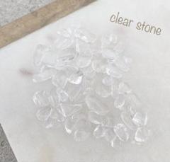 "Thumbnail of ""天然石 透明 クリア ネイルパーツ さざれ石"""