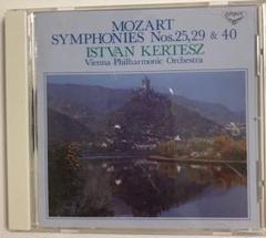 "Thumbnail of ""モーツァルト:交響曲第25番・第29番・第40番 ケルテス/VPO"""