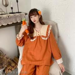 """Thumbnail of """"2021新モデル甘美人形襟居服パジャマ2点セット Y933n"""""""