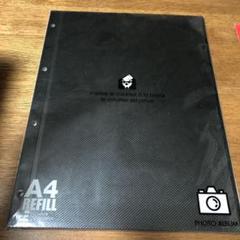 "Thumbnail of ""A4 4穴 ブラックフォト台紙"""
