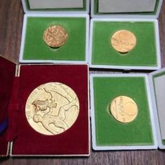 "Thumbnail of ""4枚 東京オリンピック 記念メダル 1,964年"""