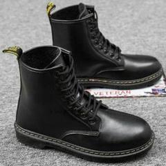 """Thumbnail of """"マーティンの靴の男性の高幇英倫の風の韓国版の潮流の百はツールの靴の黒色の男性]"""""""