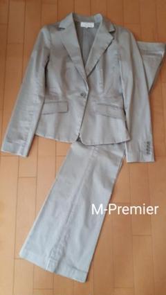 "Thumbnail of ""【値下げ】エムプルミエ M-Premier  パンツスーツ上下"""