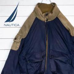 """Thumbnail of """"nautica ダウンジャケット 小文字タグ 90's レザー 本革"""""""