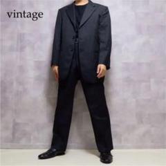 """Thumbnail of """"vintage ブラック ウール テーラードジャケット セットアップ"""""""