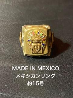 A574 used mexico vintage ぐるぐる silver リング