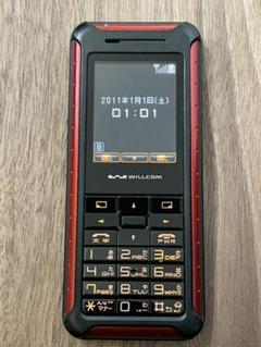 """Thumbnail of """"WILLCOM WX130S RED"""""""