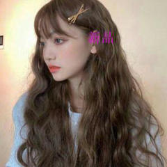 """Thumbnail of """"22純粋な天然のウィッグ,美しい髪の色,日常の自然 ---- ロングカール0"""""""