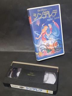 "Thumbnail of ""ディズニー シンデレラ 二か国語版 VHSビデオ"""