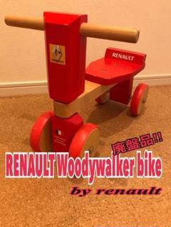 """Thumbnail of """"RENAULT Woody Walker-Bike レッド木製四輪バイク"""""""