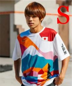 "Thumbnail of ""サイズS NIKE スケートボードクルー 日本代表ユニフォーム 堀米選手着用"""