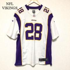 "Thumbnail of ""NFL ゲームシャツ VIKINGS #28 PETERSON ユニフォーム"""