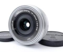 "Thumbnail of ""OLYMPUS 標準レンズ M.ZUIKO14-42mmEZ シルバー"""