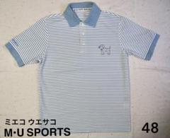 """Thumbnail of """"エムユースポーツ 38 ポロシャツ ゴルフウェア 半袖 メンズ ミエコウエサコ"""""""