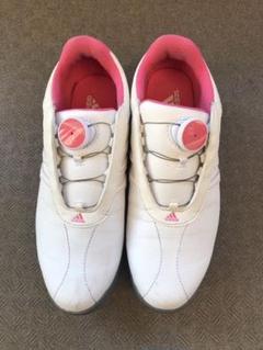 """Thumbnail of """"ゴルフシューズ adidas レディース  23.5cm"""""""