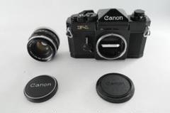 "Thumbnail of ""★大人気★ Canon キャノン F-1 後期型 + レンズ セット"""