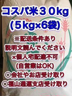 "Thumbnail of ""コスパ米 白米 30kg"""