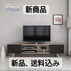 "Thumbnail of ""スライドパネルTV台 ブラウン プラザセレクト"""