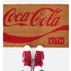 "Thumbnail of ""コカコーラ キス KITH×COCA COLA 玄関マットフロアマット"""