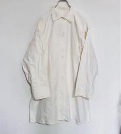"Thumbnail of ""スウェーデン軍 ドクターシャツ ドクターコート ホワイト ARMY ミリタリー"""